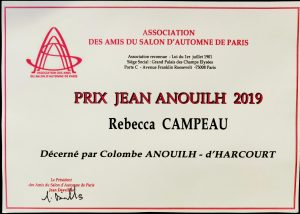 Prix Jean Anouilh 2019