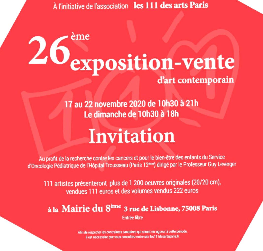 L'Exposition aura lieu en 2021